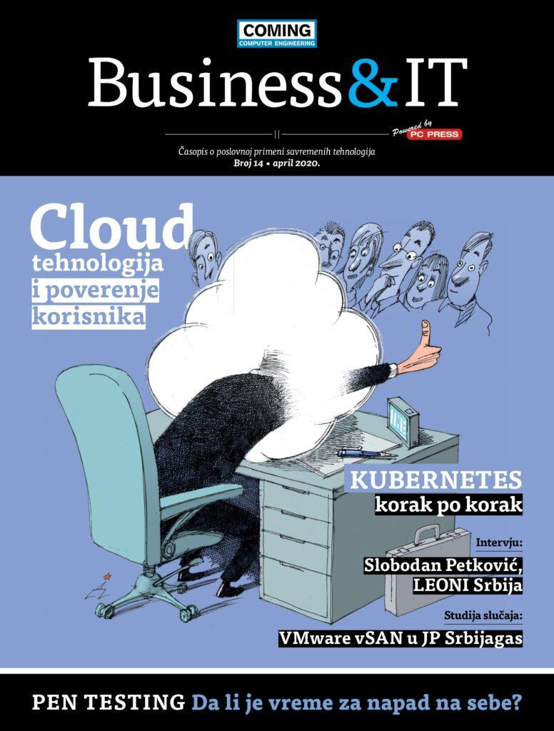 naslovna stranica 14. broja business IT časopisa