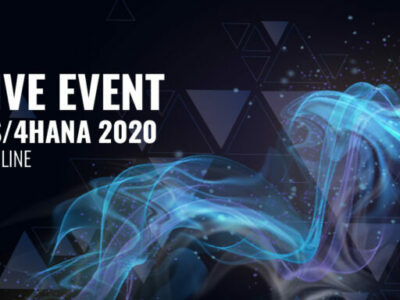 Sap live event blue cover